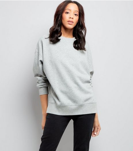 Grey Slouchy Jumpers | New Look