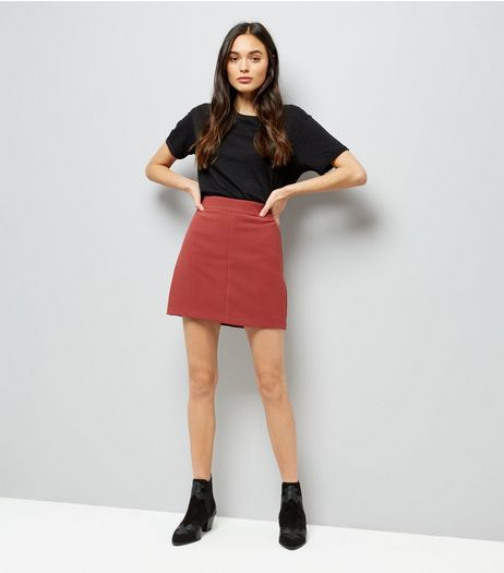 Brown A-Line Skirt | New Look