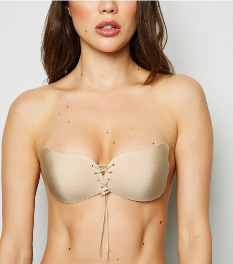 Nude A Cup Stick On Bra | New Look
