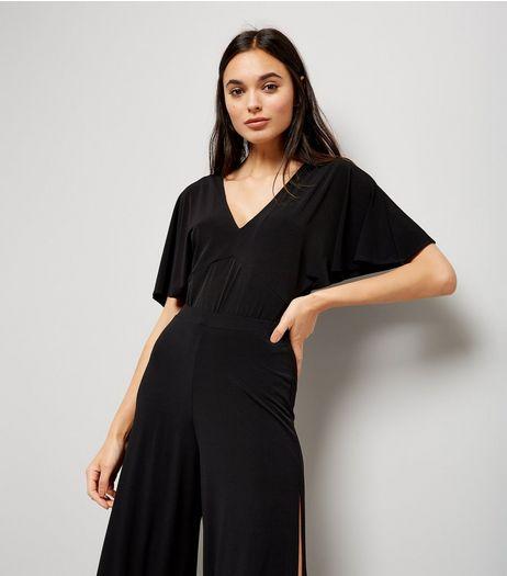 Black Lattice Back Bodysuit | New Look