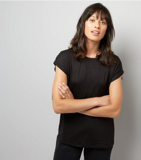 Black Basic T-Shirt | New Look